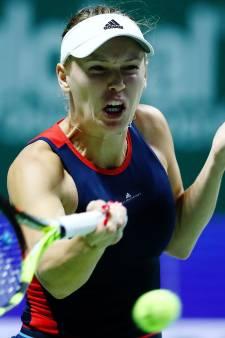 Wozniacki te sterk voor Kvitova bij WTA Finals