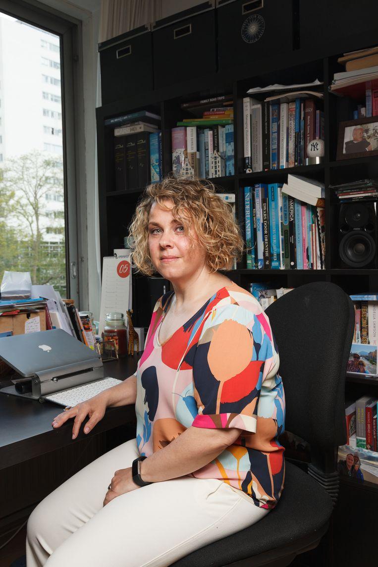 Socioloog Mara Yerkes deed onderzoek naar gendergelijkheid tijdens de coronacrisis. Beeld Ivo van der Bent