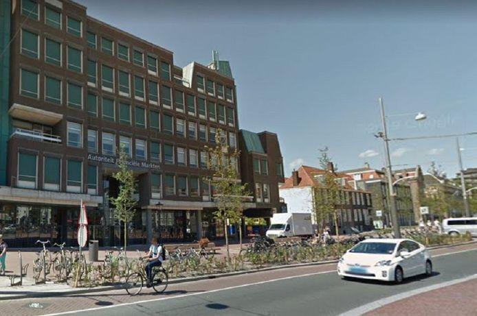 Het kantoor van de financiële waakhond aan de Vijzelgracht in Amsterdam.