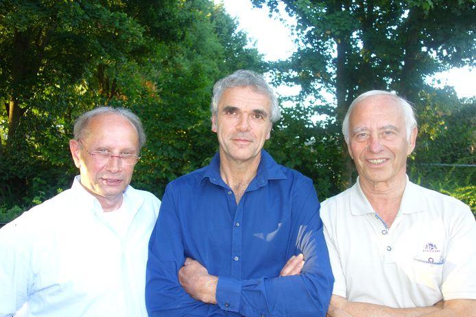 Bestuur Ondernemersfonds:  Frank van Asten, Maarten Rooijakkers en Joop Spek.
