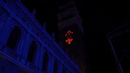 Venetië zet nieuwste Spider-Manfilm in de kijker met licht- en beeldspektakel