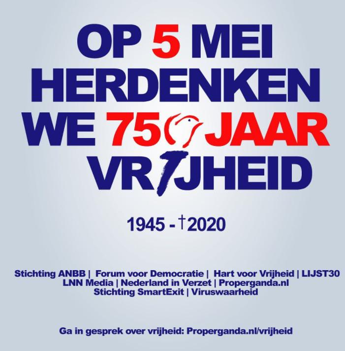 Het omstreden affiche van FvD