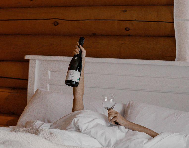 Alcohol en slapen Beeld Unsplash