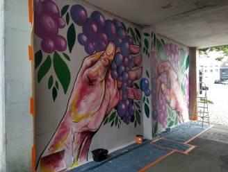 Na grauwe elektriciteitskasten worden nu ook muren beschilderd voor Tour Elentrik
