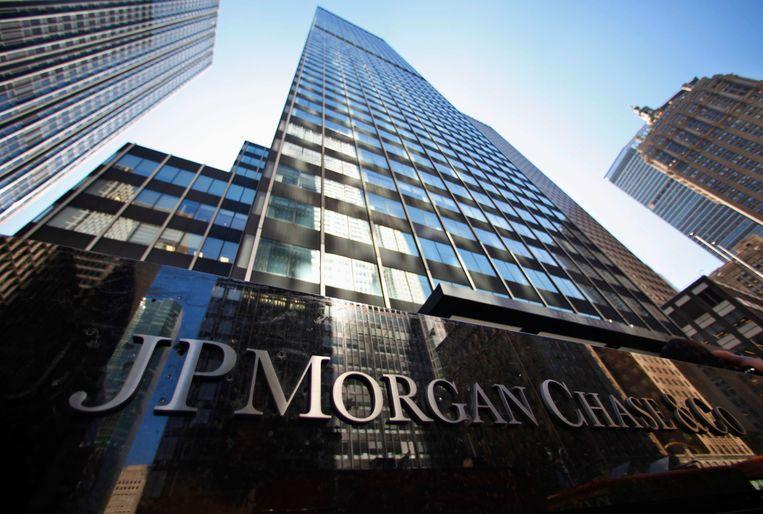 Het hoofdkantoor van JPMorgan in New York. Beeld REUTERS