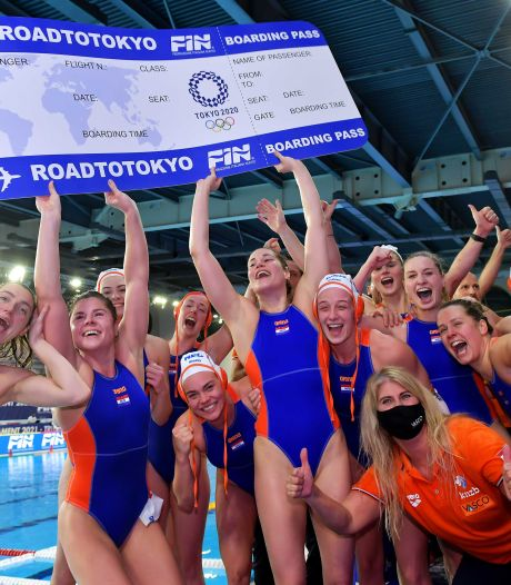 Waterpolosters in poulefase Olympische Spelen tegen Australië, Canada en Spanje