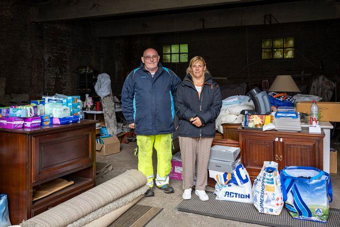 De VZW kon al heel wat spullen inzamelen voor het getroffen gezin.