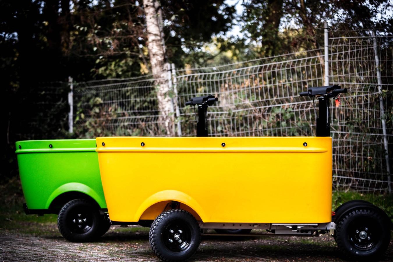 Een ouder model van het elektrisch aangedreven voertuig van Stint Urban Mobility. Foto ter illustratie.