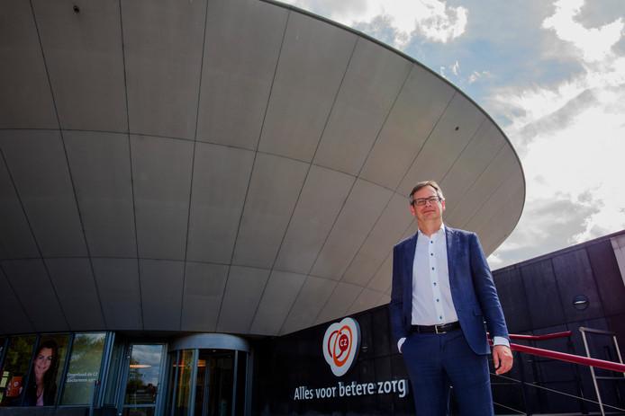 Joep de Groot, de nieuwe bestuursvoorzitter van zorgverzekeraar CZ.