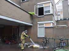 Woningen ontruimd door korte brand in woning aan Z.H.B.-Hoven