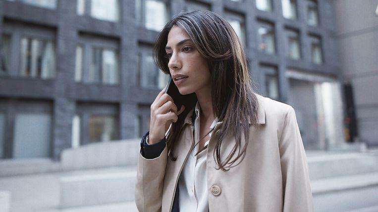 Evin Ahmad speelt het hoofdpersonage Leya in de Zweedse serie 'Snabba Cash'.  Beeld RV