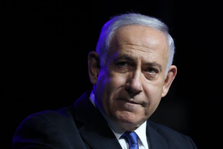 De stemming zondag in het Israëlische parlement kan het einde betekenen van het tijdperk-Netanyahu, die twaalf jaar onafgebroken premier is geweest.  Beeld EPA