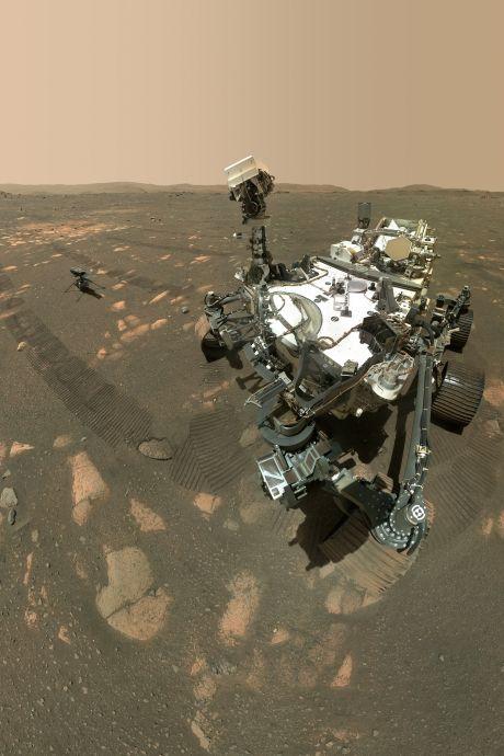 Exploit sur Mars: le rover Perseverance a fabriqué de l'oxygène