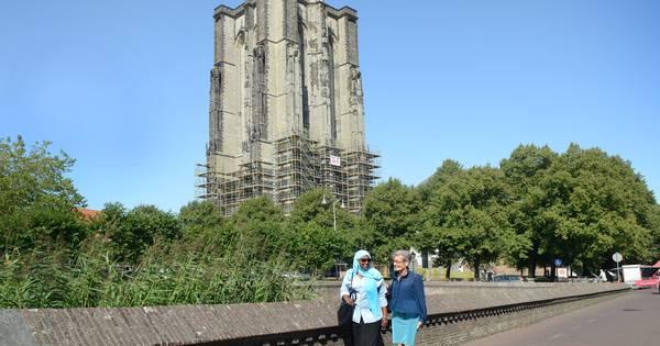 Glas In Lood Zierikzee.Dikke Toren In Zierikzee Is Bijna Weer Bloot Schouwen