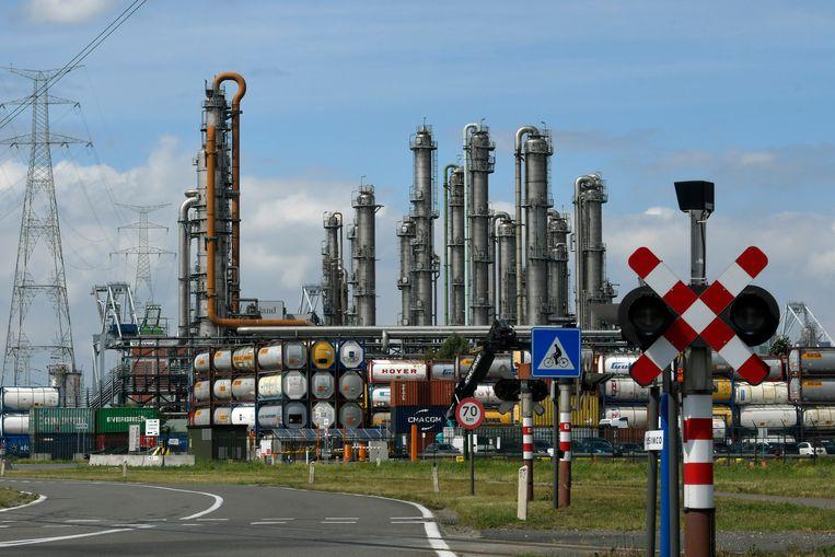 De Ineos-vestiging in de Antwerpse haven.  Beeld Photo News