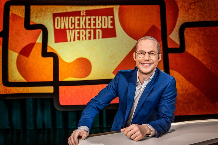 Mathias Coppens presenteert 'De omgekeerde wereld'. Beeld VTM