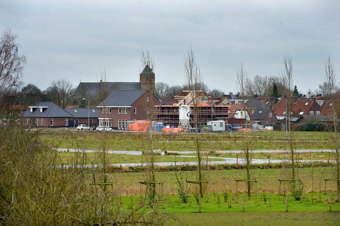 In Beusichem wordt vrij veel nieuw gebouwd in plan Hoogendijck