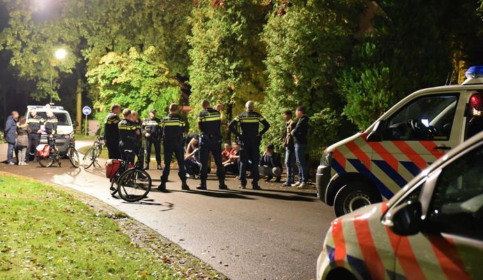 Aanhouding jonge asielzoekers Oisterwijk azc