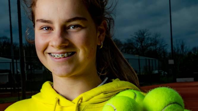Met een vierde plek op het finaletoernooi in Monaco laat tennisster Rose-Marie zien bij de top te horen
