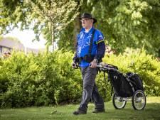 1400 kilometer wandelen? Nijverdaller Gerard (76) gaat de uitdaging aan, maar komt zichzelf zeker ook tegen