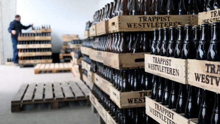 Archiefbeeld uit de brouwerij van Westvleteren.