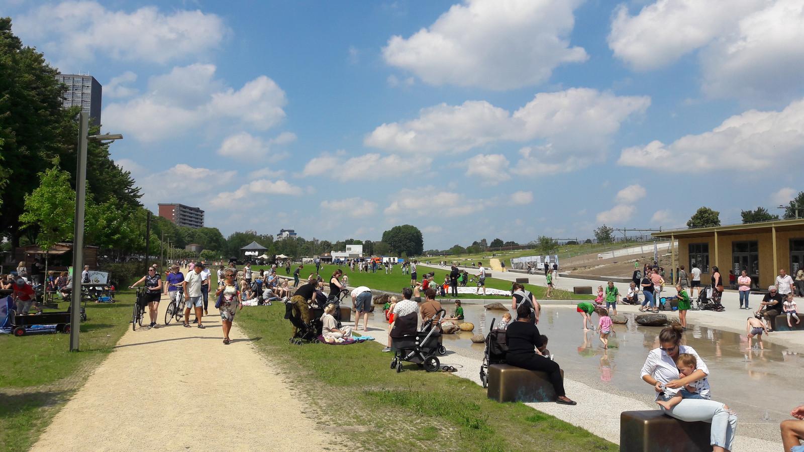 Het Spoorpark, Tilburgs bekendste voorbeeld van burgerparticipatie.