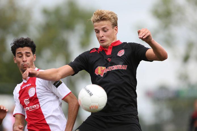 SteDoCo's Joran Schröder weerstond de lokroep van grote amateurclubs.