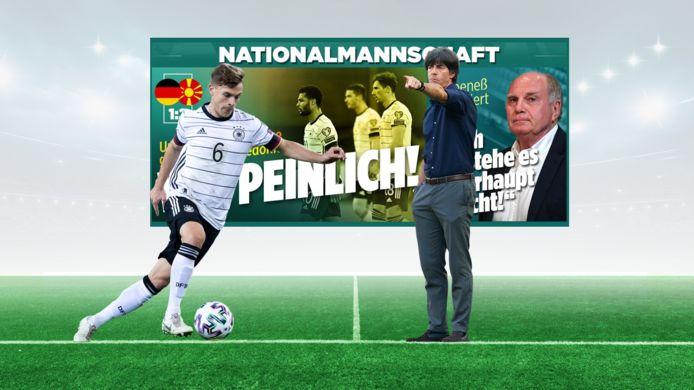De historische nederlaag van Duitsland krijgt veel aandacht in de plaatselijke pers.