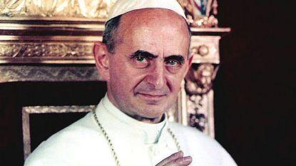 Paus die abortus en anticonceptie verbood wordt dit jaar heilig verklaard