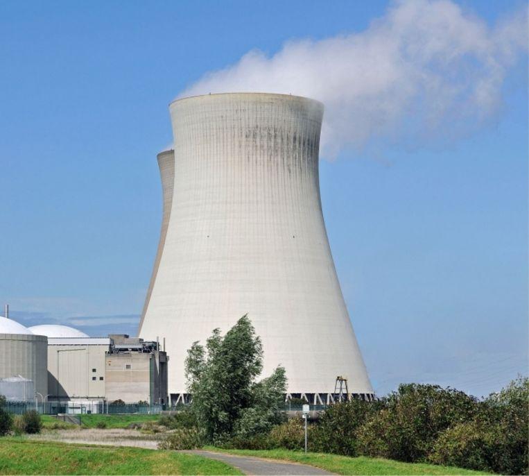 'Het betonnen omhulsel van een kerncentrale is zo dik en stevig dat een vliegtuig er nog geen deuk in slaat.' Beeld