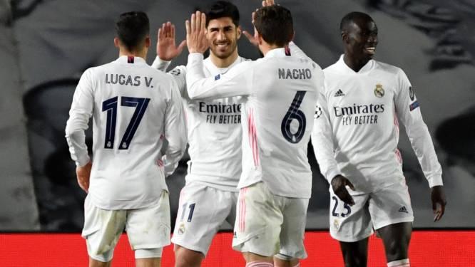 Courtois voor het eerst in zeven jaar naar kwartfinale: Real Madrid rekent zonder moeite af met Atalanta