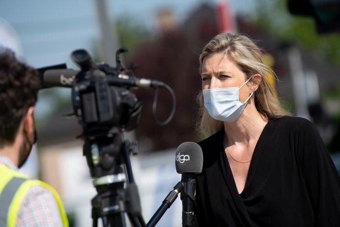Minister van Binnenlandse Zaken Annelies Verlinden.