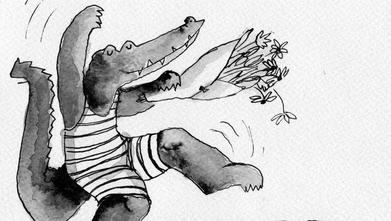Ligthart: 'Ik ben als een razende gaan schrijven' Beeld Ymke Hemminga