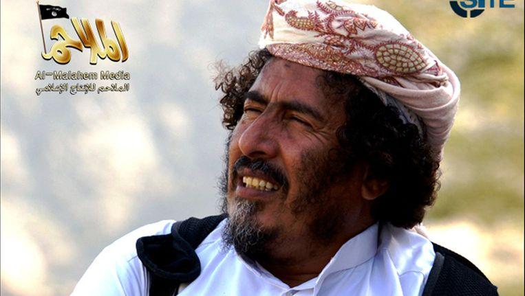 Screenshot van Mohammed al-Hanq. Foto: AFP Photo / Site Intelligence Group Beeld afp
