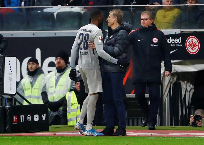 Dodi Lukebakio en Jürgen Klinsmann.