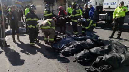 Zeker 24 mensen komen om bij busongeval in Ecuador