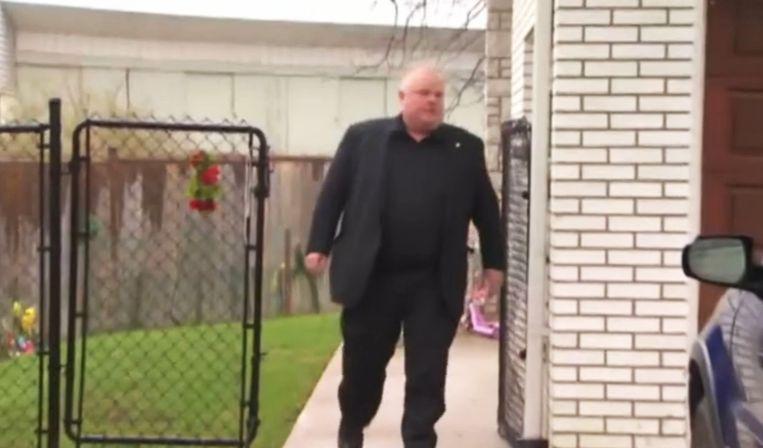 Burgemeester Rob Ford. Beeld reuters