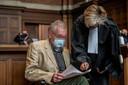 Joris Van Hove met één van zijn advocaten, meester Christine Mussche