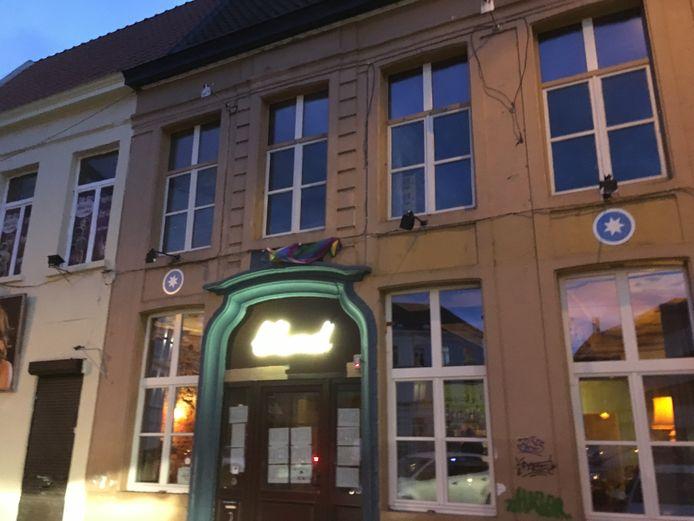 Café Blond op het Anseeleplein