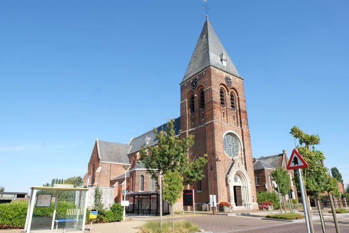 De kerk van Mijlstraat