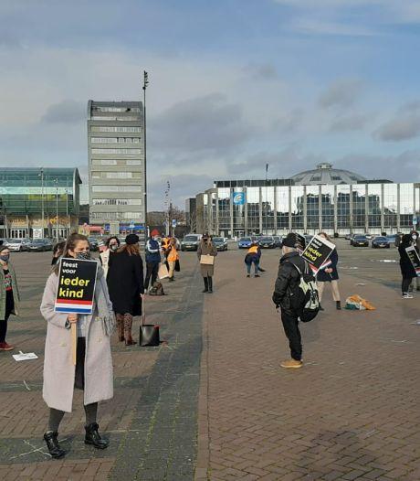 Demonstratie tegen Zwarte en Grijze Piet in Breda: 'We willen graag neutrale pieten'