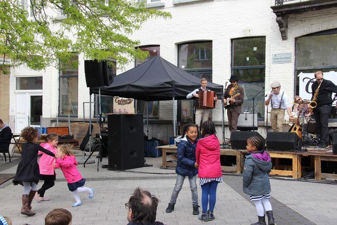 Archiefbeeld - Crêpe Brulée was vorig jaar één van de kandidaten tijdens Music Mayday.