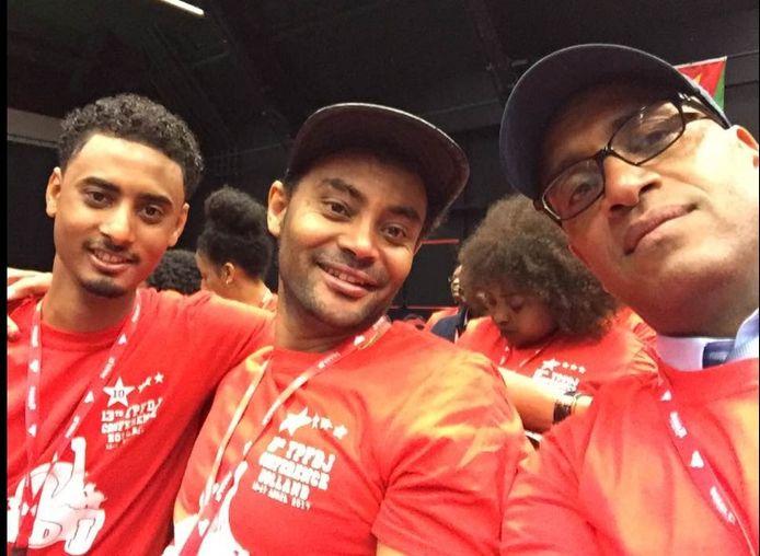 Jongeren op de Eritrese conferentie in Veldhoven.