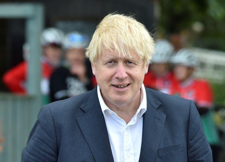 Anders dan voorganger Theresa May denkt Boris Johnson mee met de zakenwereld. Hij is tegen regulering en voor vrijhandel.  Beeld REUTERS
