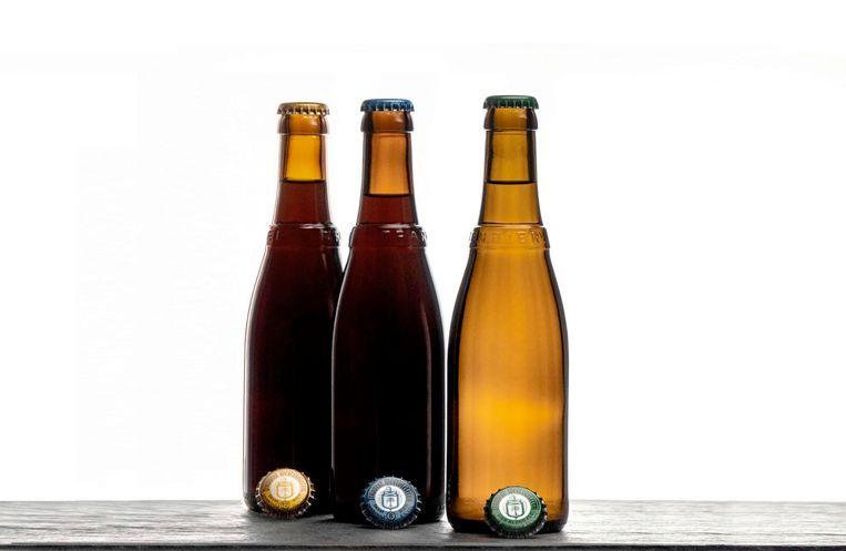 De bieren van de Sint-Sixtusabdij: de Westvleteren 12, Westvleteren 8 en Westvleteren blond.