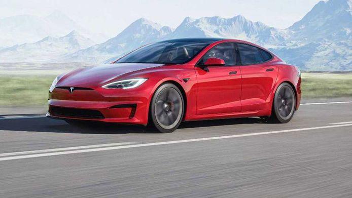 De vernieuwde Tesla Model S