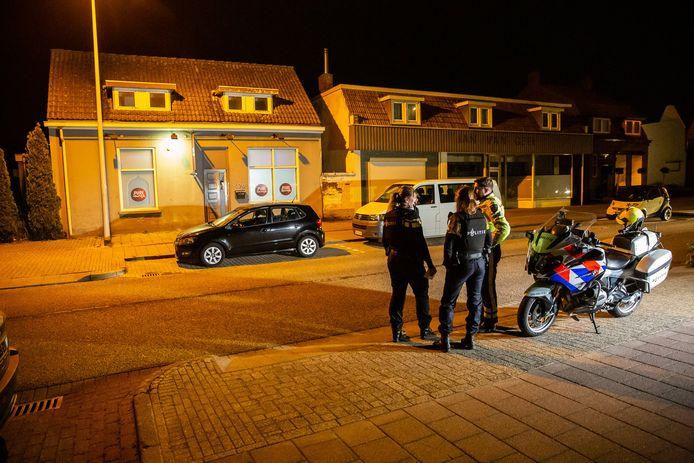 Het incident vond plaats aan de Antwerpsestraatweg in Bergen op Zoom.