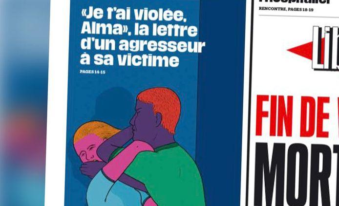 La Une du journal Libération ce lundi 8 mars.