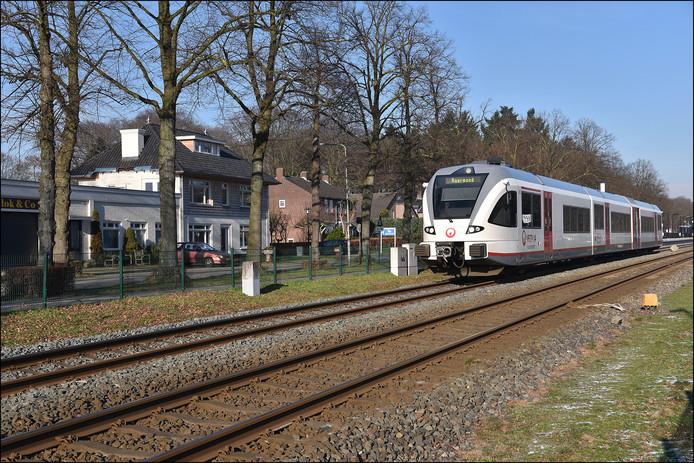 Het station in Molenhoek.