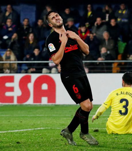 Atlético Madrid wint ook niet bij Villarreal